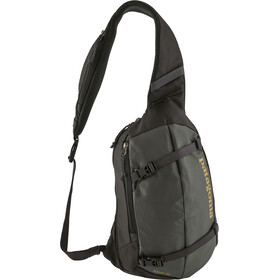 Patagonia Atom Sling Shoulder Bag 8L Forge Grey w/textile Green